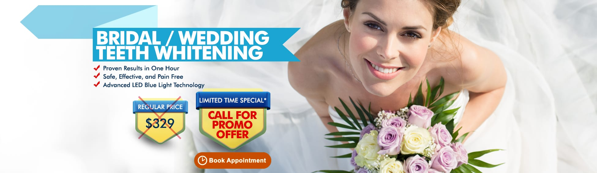 Bridal Wedding Teeth Whitening Packages - Call For Promo Offer