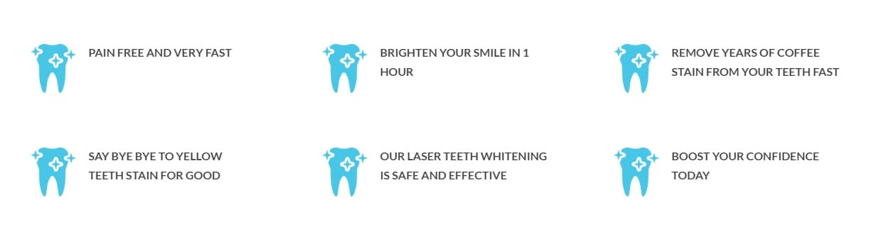 laser teeth whitening benefits 2
